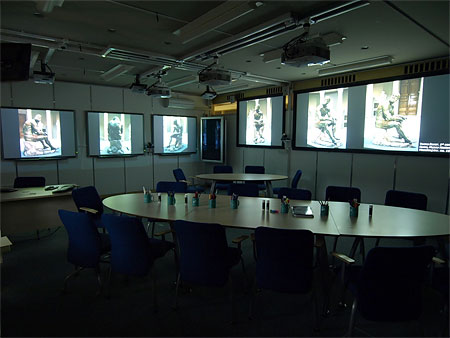 A Multi-Display Learning Space at the University of Nottingham